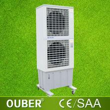 double axial fan split unit portable evaporative water cooler air conditioner 14000m3/h