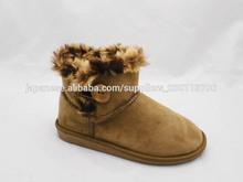 Hot sales button women warm winter snow boots
