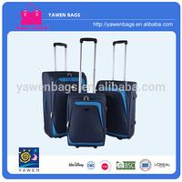 2 Wheel Fabric Trolley Luggage Set
