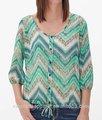 2015 de la alta calidad de manga larga de verano blusa ocasional diseño moda de nueva blusa ocasional