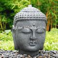 stein buddha garten brunnen