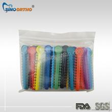 Bravo Rainbow Orthodontic Tie Different Colors
