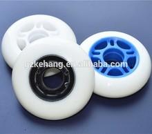 best price speed PU inline skate roller/car wheel skates/inline rubber skates wheels