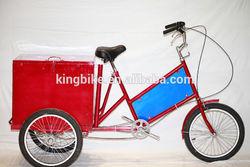 New 3 Wheel Cargo Bike Specialized Tricycle Three Wheel Ice Cream Cargo Bike KB-COB-W11