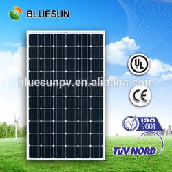 Bluesun excellent quality high performance 250 w pv solar panel