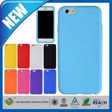 C&T 2014 Wholesale fashion silicone design for iphone 6 case