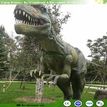 Amusement Park Life Size Animatronic Dinosaur for Exhibition Display Stand