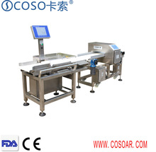 Combo Metal Detector and Check Weigher for food Processing /Textile/ Plastic industry