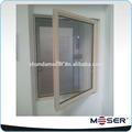 ahorro de energía de rotura de puente térmico de aluminio ventanas de doble acristalamiento