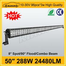 """Brand led 50"""" 24480LM 288w led light up bar drink ware"""