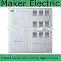 Modelo: jl-sbd9z 1 3 e fases de fibra de vidro smc caixa de medidor elétrico