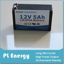 car starting 12v 5Ah lifepo4 battery for electrical skateboard