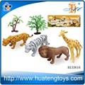 2014 wholsale kunststoff wildes lebensechte tierspielzeug, tierfiguren h133616 spielzeug