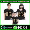 el shirt/led panel t-shirt,Super cool and fantastic equalizer led el shirts