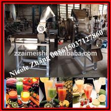 En acier inoxydable 0.5-2.5/1650cm vis extracteur de jus pommes avec broyeur 008615037127860