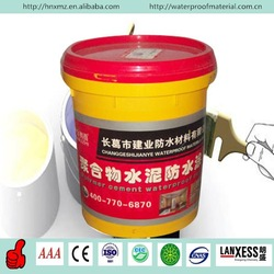 Cementitious polymer cement ceramic waterproof paint