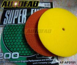 AUTOFAB - HK Air Filter Foam/Air Filter sponge (Green,Red,Yellow) Default color Green AF-AF0101
