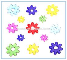 3D window decor flower gel epoxy stickers