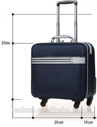 "16"" Stylish lightweight urban luggage with laptop sleeve"