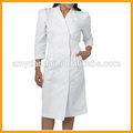 cómodo y barato diseño enfermera uniforme blanco