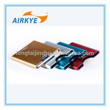 2014 aluminium name card case/namecard holder metal