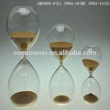 Khaki Large Hourglass Sand Timer for Kids