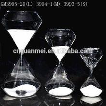 Factory Wholesale Desktop Decorations White Color Hourglass