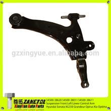 54500-38620 54500-38011 54500-38611 Suspension Left Front Lower Control Arm For Hyundai Sonata XG350 Grandeur Opirus K ia Optima
