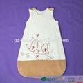 Baumwolle/Polyester babyschlafsack mit stickerei