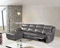6006l sala em forma de l sofá reclinável/sofá estande restaurante
