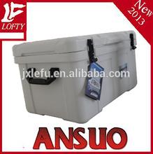 Fashion plastic 75L blue ice chest