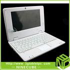 OEM&ODM 10INCH mini laptop VIA8850,Best price Tablet PC 1.2GHz Mini Laptop 2300mAH Battery