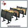 Steel Frame School Furniture University Desk Chair
