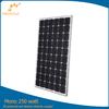 Customized designed 250w mono solar panel for RV , home use
