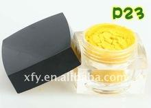 Mineral Eyeshadow Powder Makeup - matte yellow
