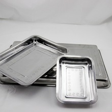 04-35*45cm wholesale stainless steel silver tray