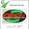 shenzhen Hidly china factory this year hot sale led open sign