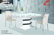 white glossy tables dining table manufacture wood table to eat