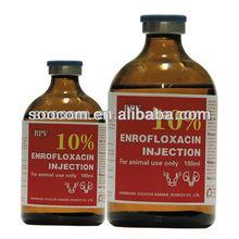 10% Enrofloxacin injection/ veterinary antibiotics injection