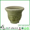 Garden decor colored plastic plant pots