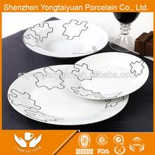 30pcs royal porcelain dinnerware /high quality super white porcelain dinner set