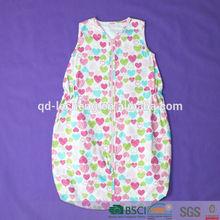 100% cotton summer baby sleeping bag