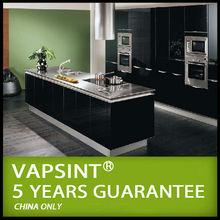 Black lacquer german kitchen cabinet hardware