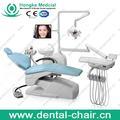 Mejor ventas calientes dentales equipo de calidad de la primera portátil unidad dental con silla dental