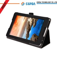Factory price PU leather back stand cover case for Lenovo Tab A8-50 A5500 8 inch android tablet