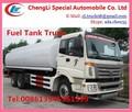 260hp pétrolier navire à vendre, 6x4 camion citerne de carburant, carburant