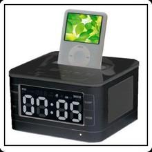 Best Hotel Alarm Clock Radio Dock Speaker For iPhone iPod