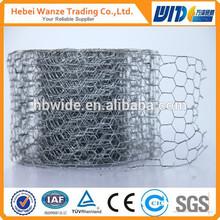 double twisted hexagonal wire mesh/hexagonal wire netting for Europe(TUV Rheinland factory)