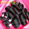 Wholesale 100% unprocessed hair weave one donor virgin peruvian hair