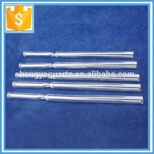 Clear Special Shape Quartz Glass Test Tube